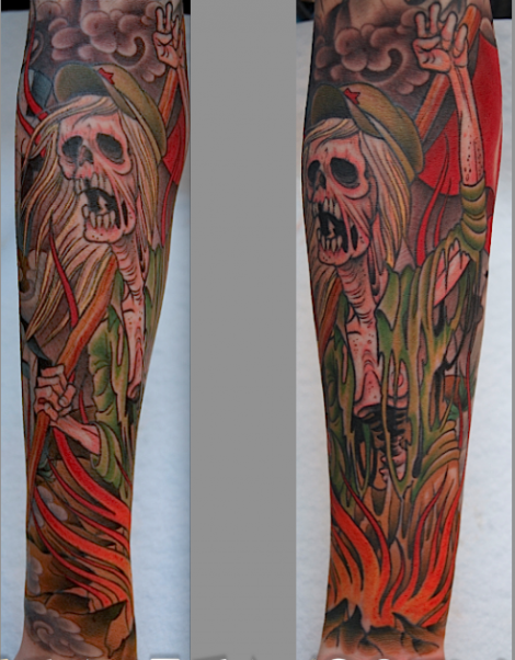 Peter Lagergren tattoos