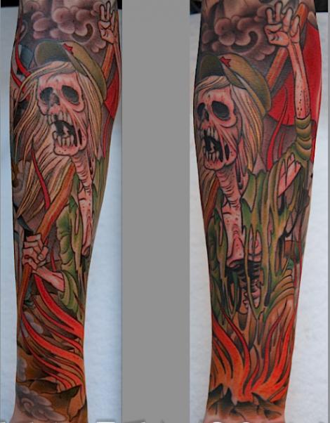 Peter Lagergren tattoos