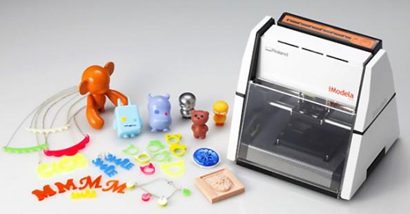iModela, the cheapest 3D printer (so far)iModela, la stampante 3D più economica (per ora)