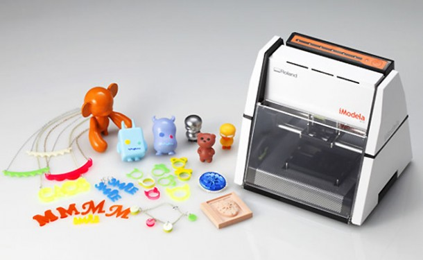 iModela, the cheapest 3D printer (so far)iModela, la stampante 3D più economica (per ora)