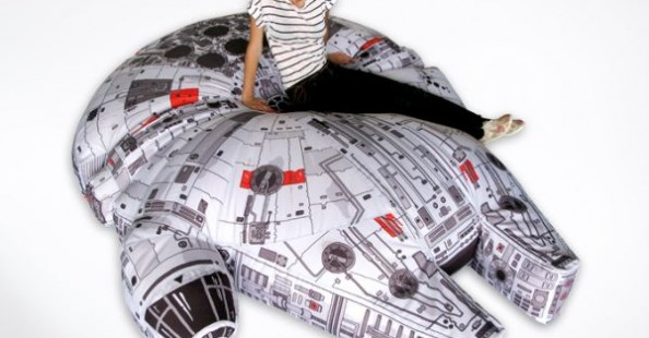Millennium Falcon bean bag chair Millennium Falcon bean bag chair