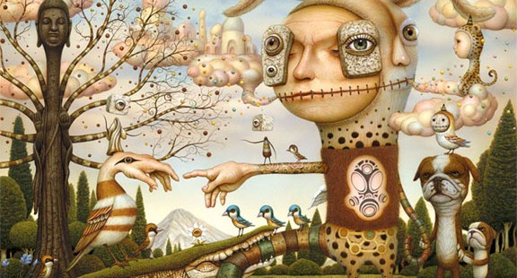 Naoto Hattori. Japanese pop surrealism.