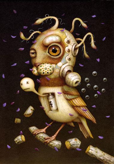 Naoto Hattori. Japanese pop surrealism.