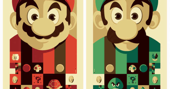 50 Incredible Super Mario Bros Artworks
