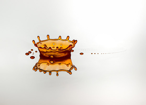 High Speed Water Drop Photography