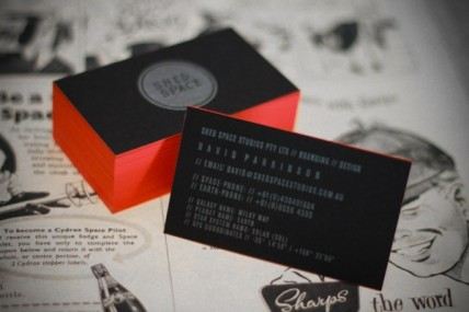 22 Awesome Business Cards From November 2011