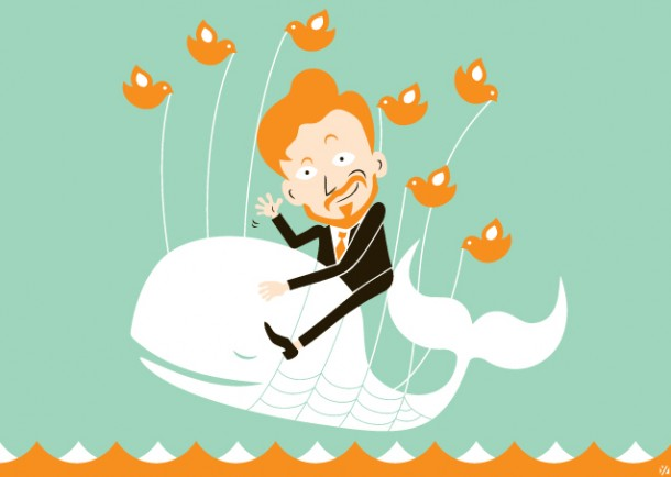 30 Adventurous Twitter Fail Whale Illustrations