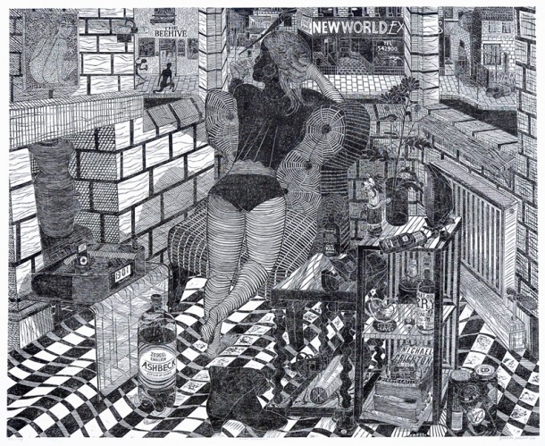 Amazing woodcuts by Gabriela JolowiczSorprendente xilografie di Gabriela Jolowicz