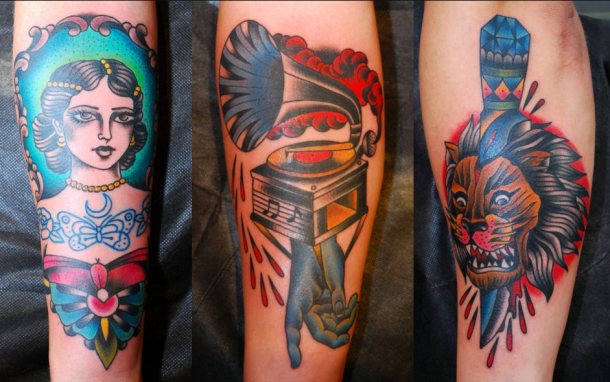 Miss Arianna - Traditional Custom Tattooing