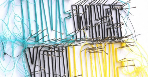 Drawings in thread by Debbie SmythDrawings in thread by Debbie Smyth