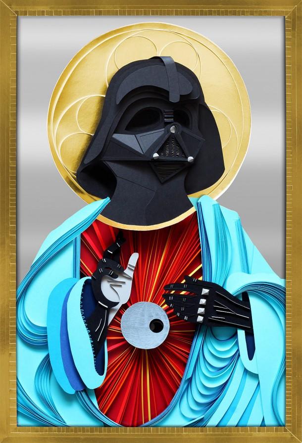 Holy Darth Vader by Lobulo DesignHoly Darth Vader by Lobulo Design