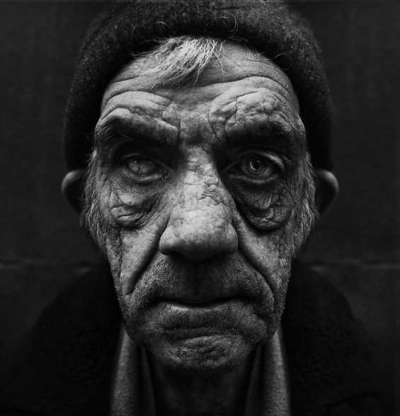 Haunting Homeless Faces by Lee Jeffries