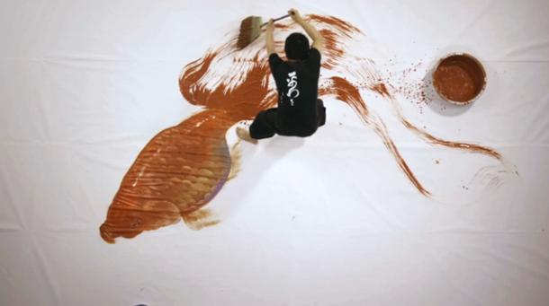"""""""Goldfish Salvation"""" by Riusuke Fukahori""""Goldfish Salvation"""" by Riusuke Fukahori"""