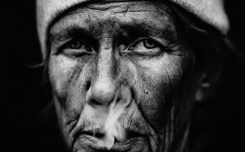 Haunting Homeless Faces by Lee JeffriesHaunting Homeless Faces by Lee Jeffries