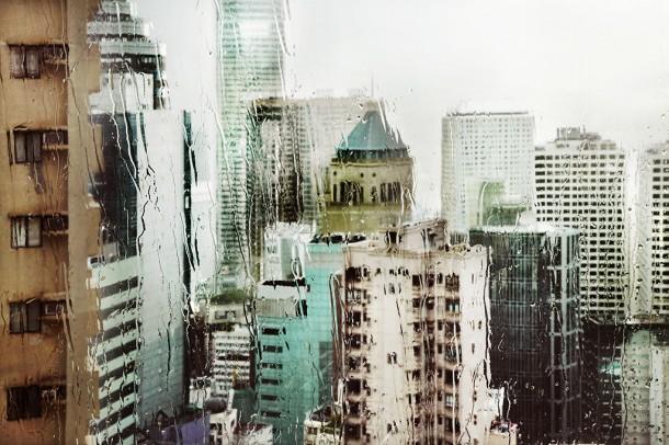 Hong-kong in the rain by Christophe JacrotHong-kong in the rain by Christophe Jacrot