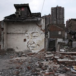 Vhils in Shanghai - 2012 - courtesy 18 Gallery Magda Danysz 12_1000