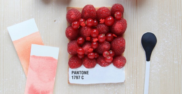 &quot;Choose your colors&quot; | Pantone tarts by Griottes