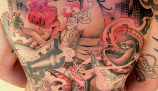 Logan from Barracuda Tattoo StudioLogan from Barracuda Tattoo Studio