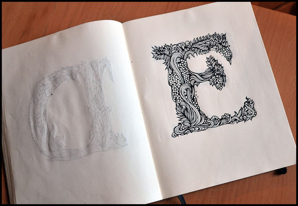 Sketchbook Illustration Drawings by Irina Vinnik