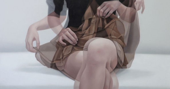 The Blurred Effect Paintings by Ho-Ryon Lee