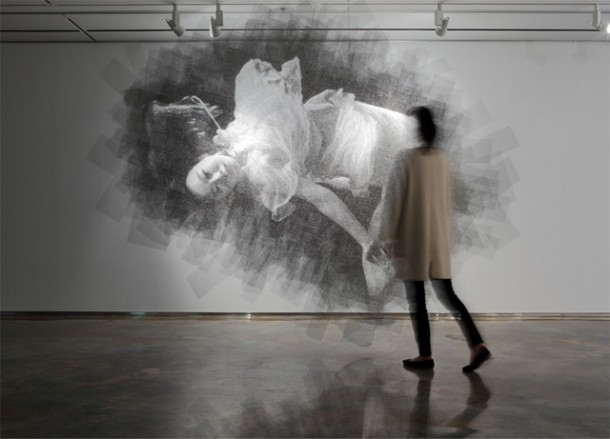 Wire Mesh Portraits by Seung Mo ParkWire Mesh Portraits by Seung Mo Park