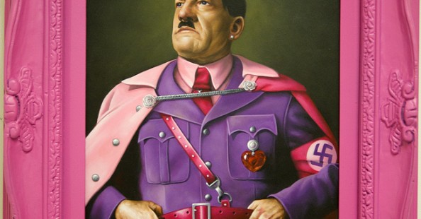 Glam dictators and popes by Scott Scheidly