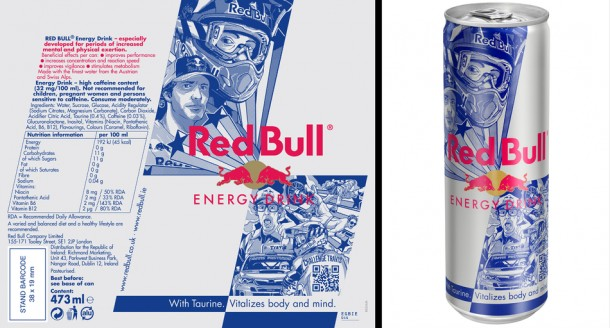 Ilovedust / Redbull Travis Pastrana Limited Edition CanIlovedust / Redbull Travis Pastrana Limited Edition Can