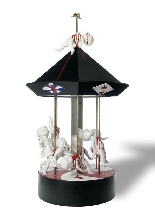 Creepy porcelain sculptures by Maria Rubinke