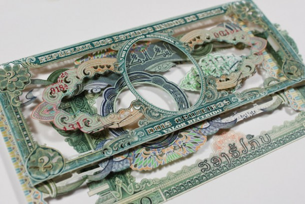 Currency Collages by Rodrigo TorresCurrency Collages by Rodrigo Torres
