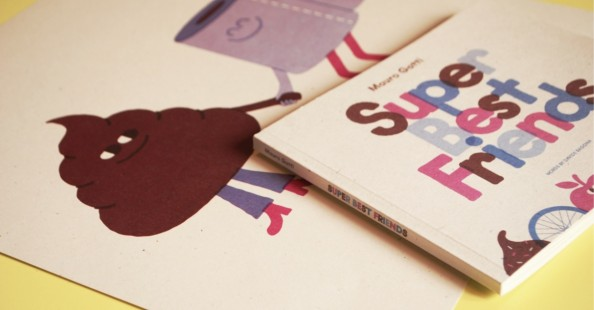"""""""Super Best Friends"""" - the new book by Mauro Gatti""""Super Best Friends"""" - the new book by Mauro Gatti"""