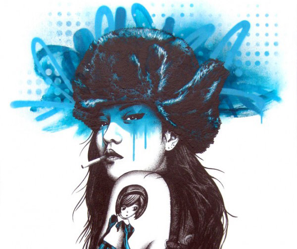 Urban Art by Fin DAC
