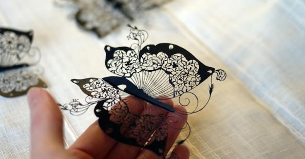Hand-Cut Paper by Hina AoyamaHand-Cut Paper by Hina Aoyama