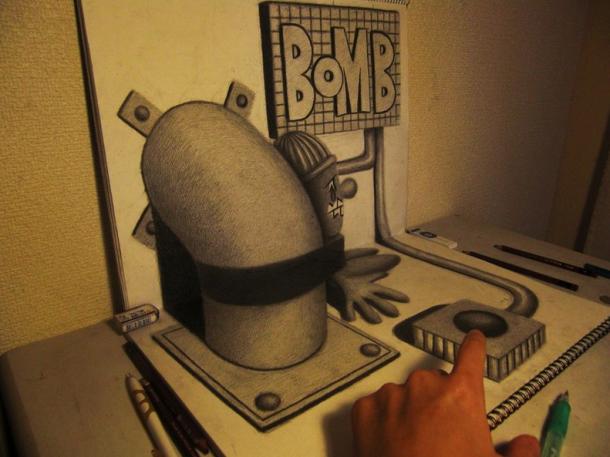 3D sketches by Hideyuki Nagai3D sketches by Hideyuki Nagai