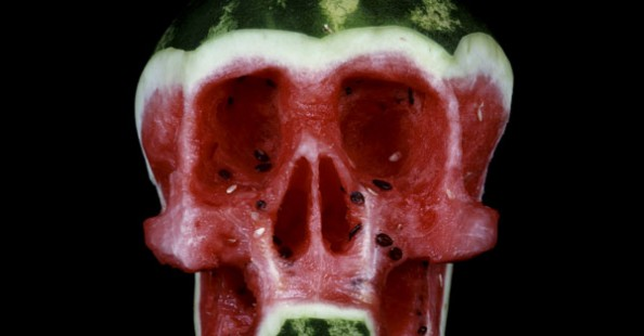 Fruit and Veggie Skulls by Dimitri Tsykalov Fruit and Veggie Skulls by Dimitri Tsykalov