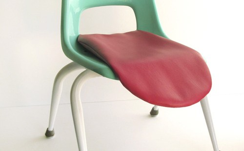 &quot;Growing up absurd&quot; children&#039;s chair by Wary Meyers