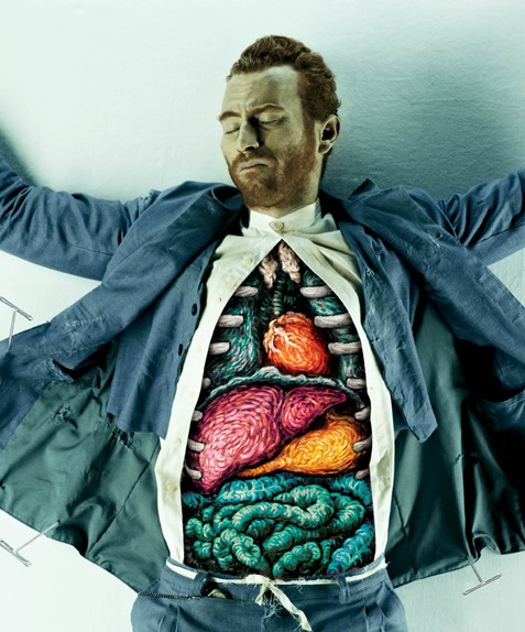Organs of Dali, Vincent Van Gogh and Picasso