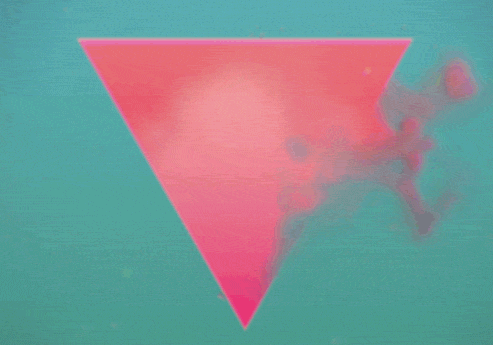 Vintage geometrical animated GIFs by Matthew Divito