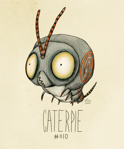 Tim Burton Inspired Pokemon Re Design by Hat Boy