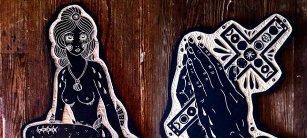 Tattoo Woodcuts by Bryn PerrottTattoo Woodcuts by Bryn Perrott