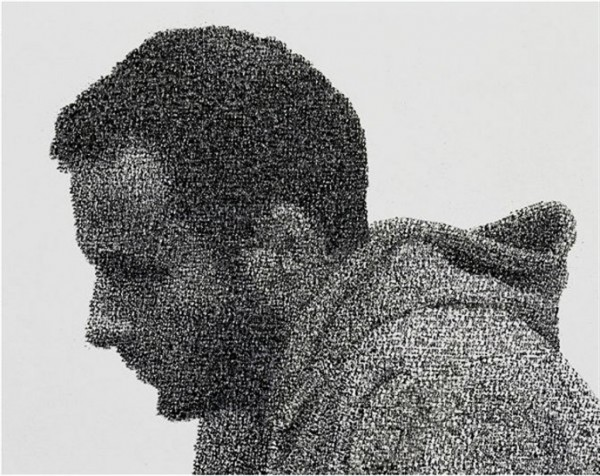 Ink Stamp Pointillism by Federico Pietrella