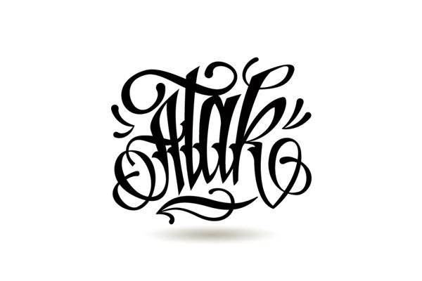 Calligraphy by Adam Romuald Klodecki
