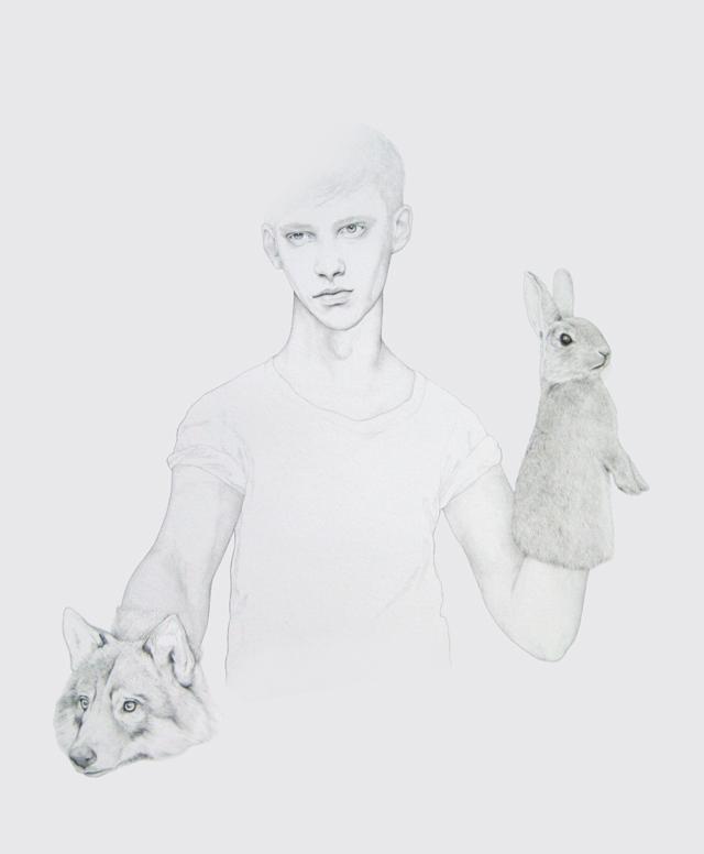 Beautiful drawing by Denise Nestor