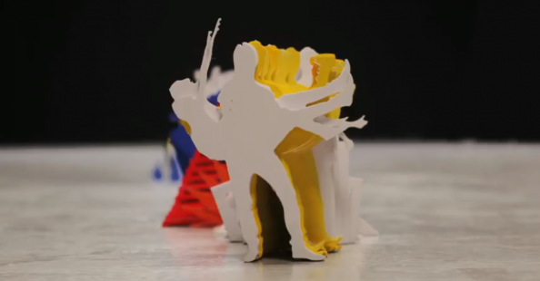 """Katachi"" stop motion video by Kijek & Adamski"