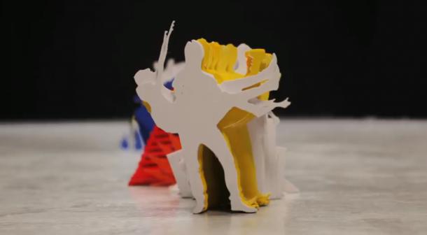 """Katachi"" stop motion video by Kijek & Adamski"