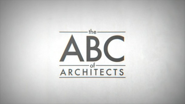 The ABC Of Architects by Federico Gonzalez
