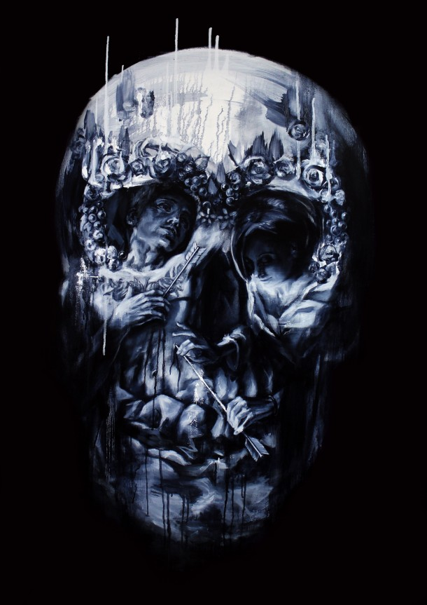 Skulls, illusions and other artworks by Tom FrenchSkulls, illusions and other artworks by Tom French