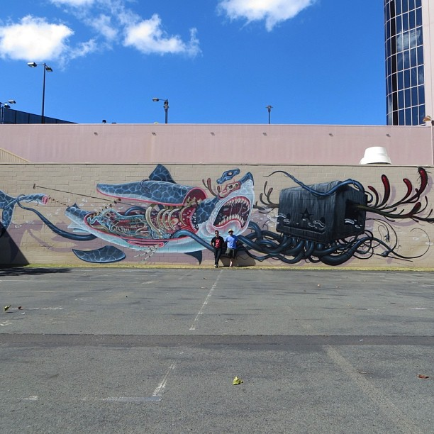 Nychos feat. Jeff Soto at Pow Wow 2013