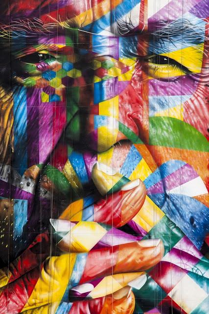 New Mural In Sao Paulo by Eduardo Kobra