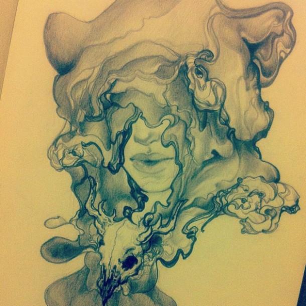 Amazing sketch drawings by Sooj MittonAmazing sketch drawings by Sooj Mitton