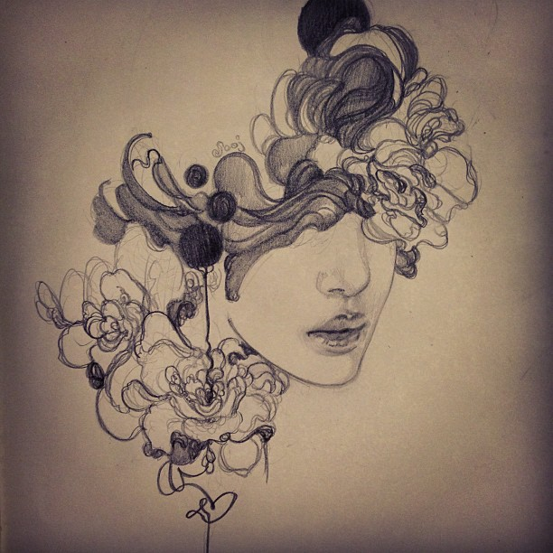 Amazing sketch drawings by Sooj Mitton